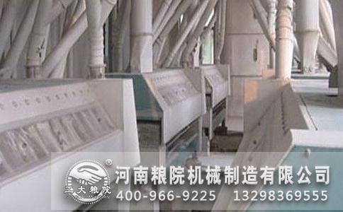 面粉加工机械磨辊间蓬料现象