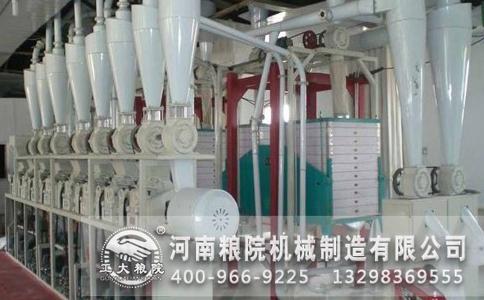 了解面粉加工机械洗麦过程与面粉质量的关系